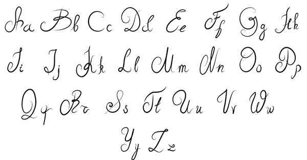Maiuscole e minuscole un p di storia 4graph blog - Modello di scrittura vichingo ...