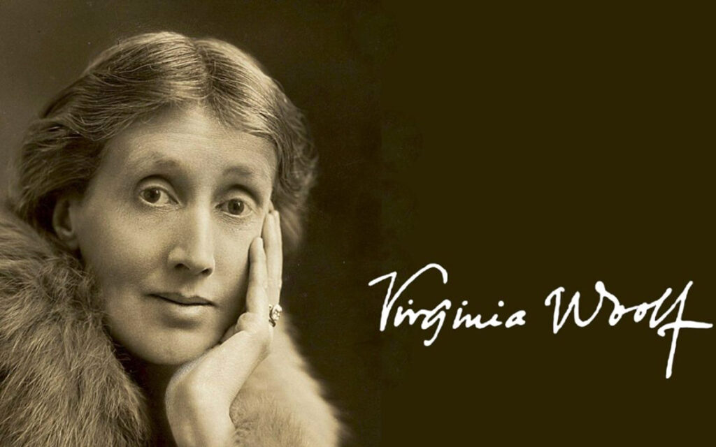 Virginia Woolf: stampa d'autore