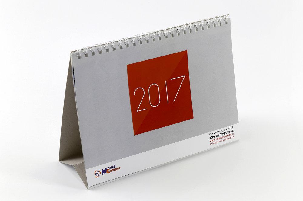 Calendari da tavolo le idee più originali logo design e