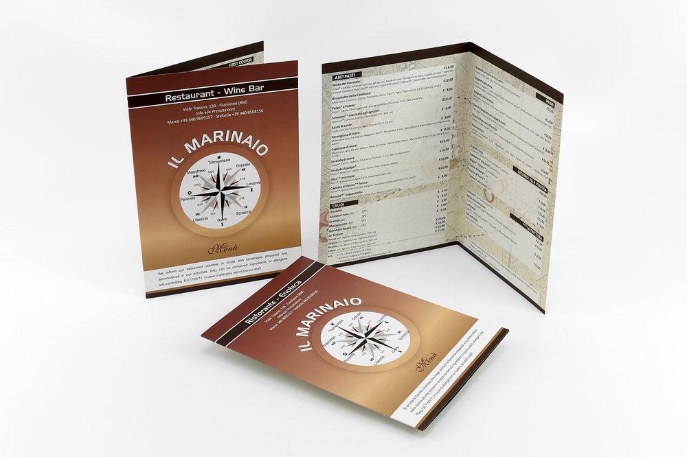 outlet in vendita autentico taglia 40 Stampa menu personalizzati con 4Graph per la tua attività